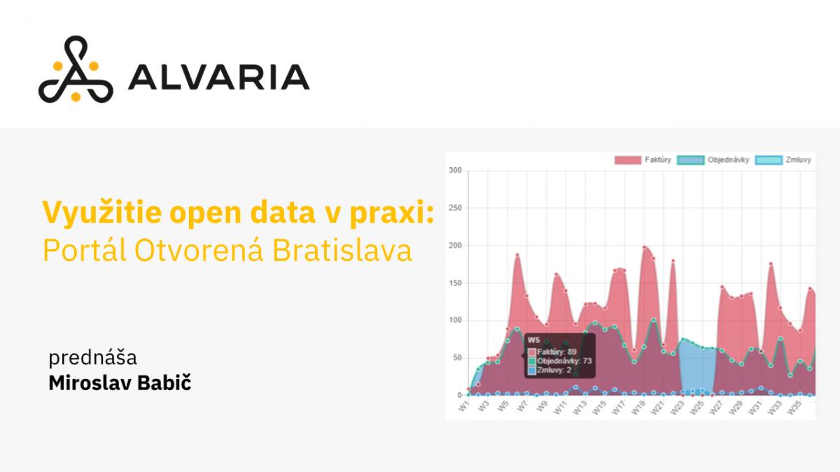 Využitie otvorených dát v praxi: Portál Otvorená Bratislava – Miroslav Babič