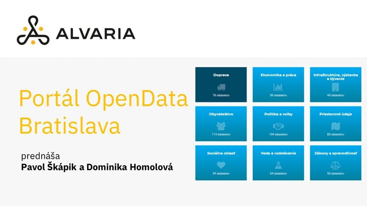 Ako sme otvárali dáta v meste: Open Data Portál Bratislava – PavolŠkápik, Dominika Homolová