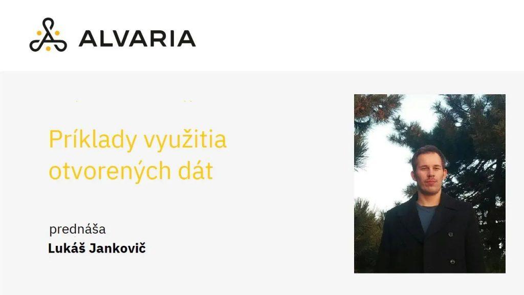Príklady využitia otvorených dát – Lukáš Jankovič