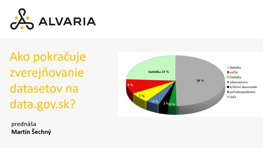 Analýza zverejňovania open data na data.gov.sk – Martin Šechný